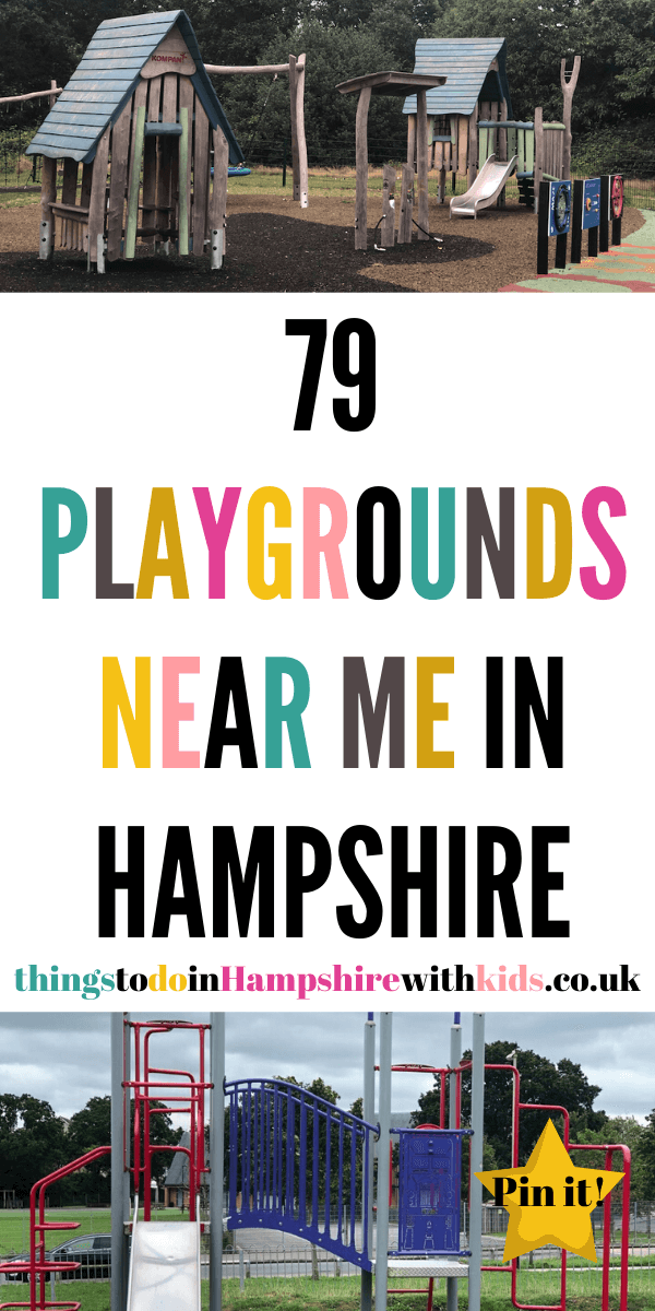 Here are 79 playgrounds near me in Hampshire that are great for the whole family to explore and have fun at. How many have you visited by Laura at Things To Do In Hampshire With Kids #Playgrounds #HampshireIdeas