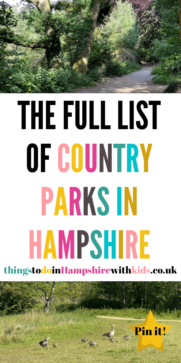 Looking for something to do this weekend? Then have a look at our full list of country parks in Hampshire that are perfect for the whole family by Laura at thingstodoinHampshirewithkids.co.uk