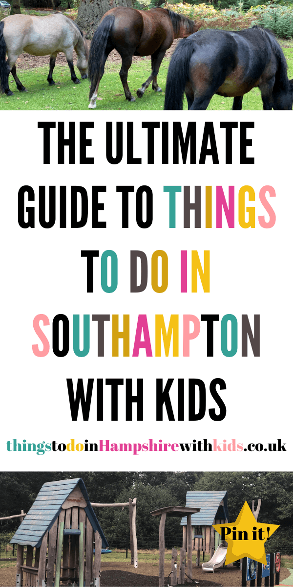 Are your kids bored? Do you need to get out the house? Then have a look at our ultimate guide to things to do in Southampton with kids by Laura at Things To Do In Hampshire With Kids #ThingsToDo #Southampton #KidsActivties