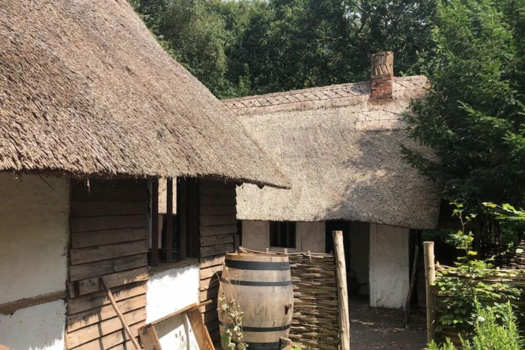 Little Woodham Living History Village in Fareham
