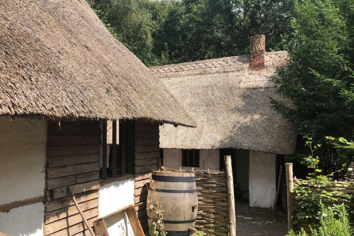 Little Woodham Living History Village in Fareham