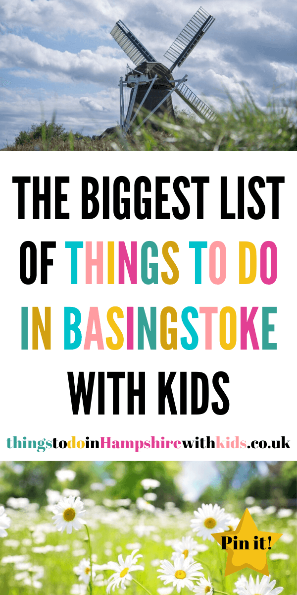 Here are the biggest list of things to do in Basingstoke with kids. Enjoy the museums, country parks, walks and days out, regardless of the weather by Laura at Things To Do In Hampshire With Kids