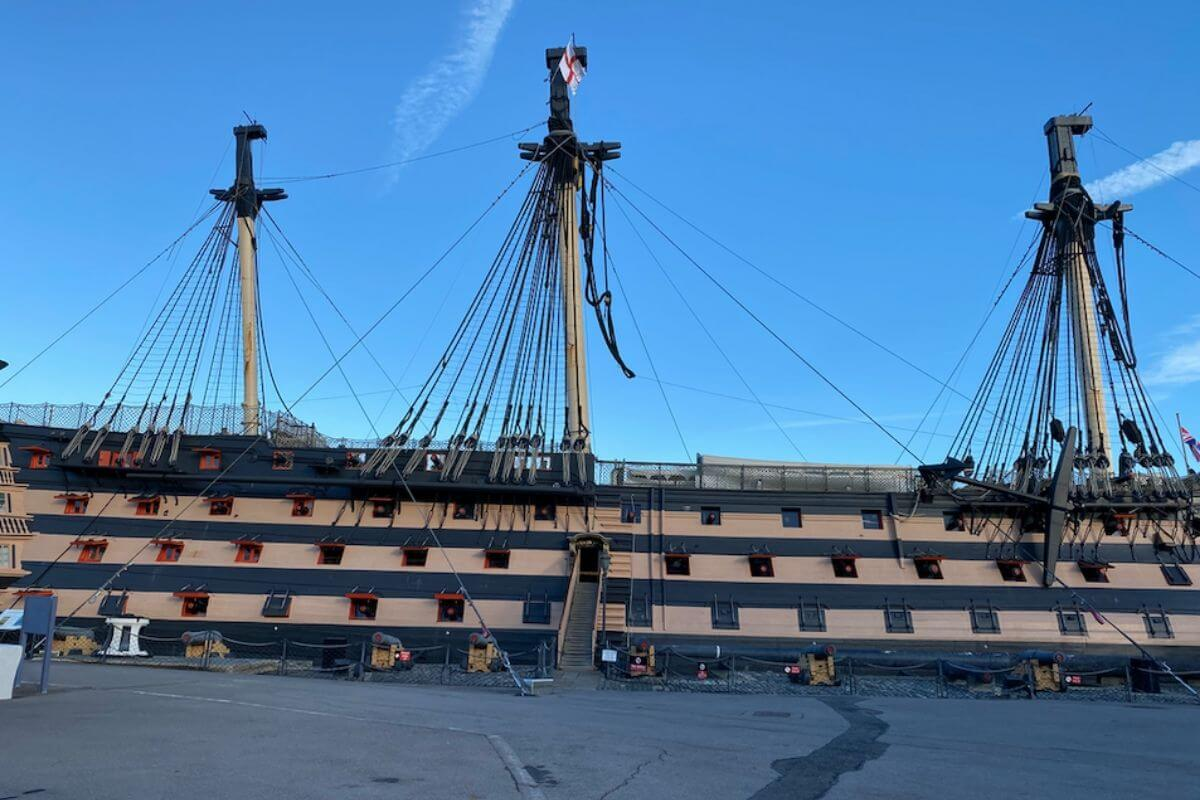 The Victory in Historic Dockyard