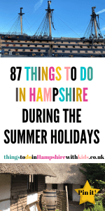 Here are 87 things to do in Hampshire that will keep the whole family amused! Everything is featured from indoor to outside fun by Laura at Things To Do in Hampshire With Kids