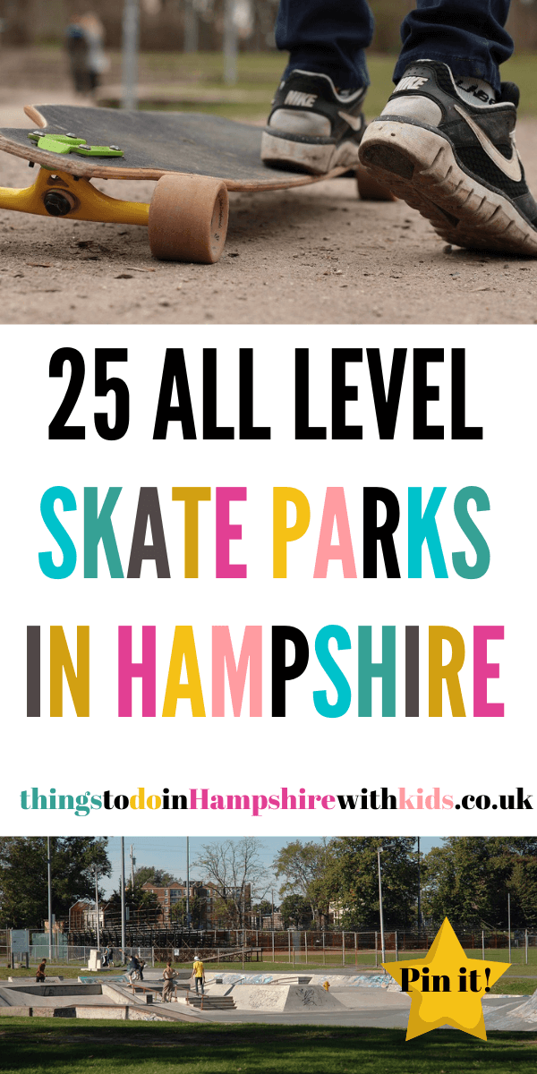Find a stake park near you with our huge list of skate parks in Hampshire. We have over 23 skate parks listed that are throughout the county by Laura at Things To Do In Hampshire With Kids
