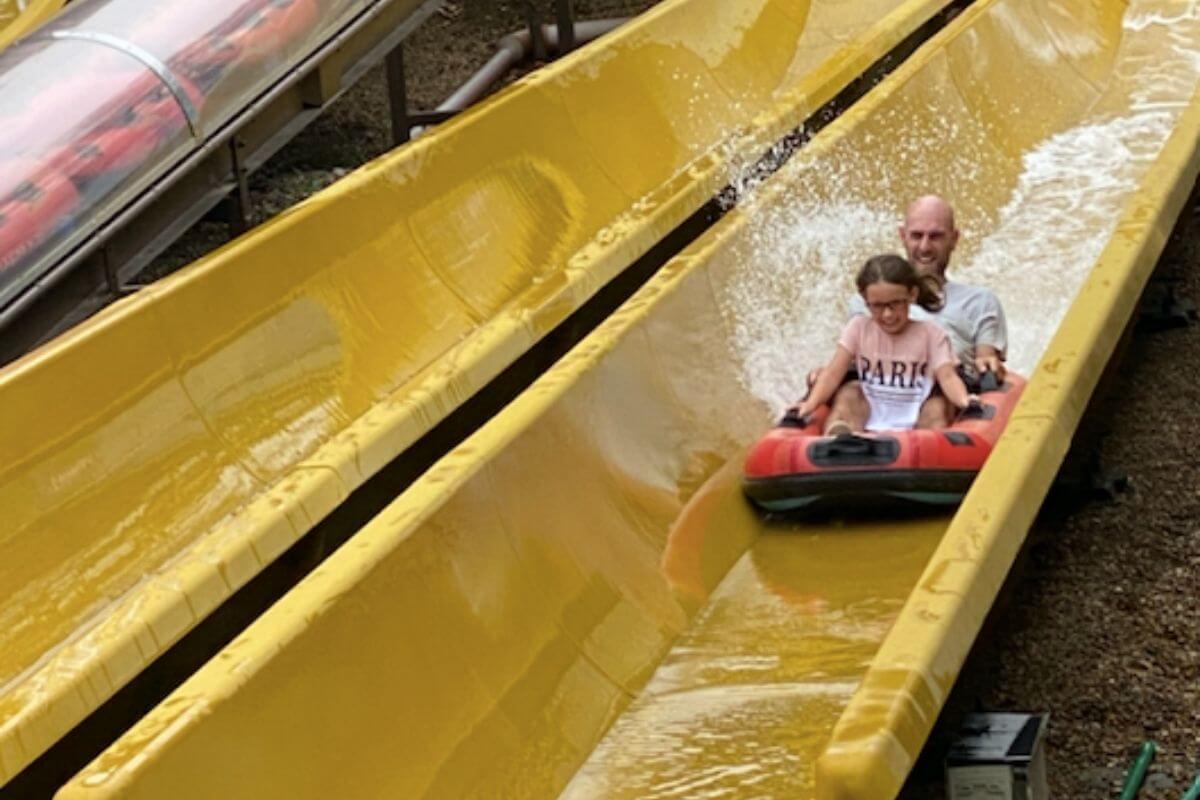 Paultons Park Yellow Splash Ride