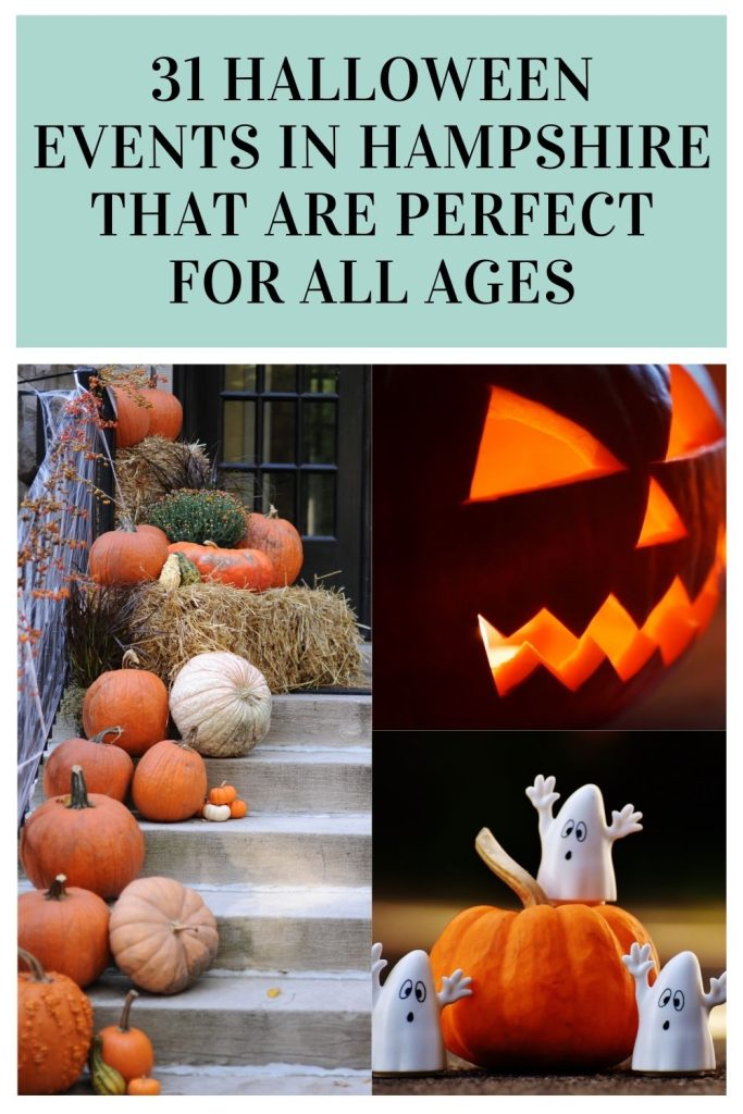 Here are 31 Halloween events in Hampshire the are perfect for the whole family to enjoy. Come along and join in this spooky season by Laura at things to do in Hampshire with kids