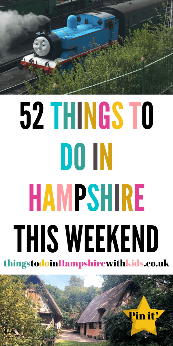 Here are 52 things to do in Hampshire this weekend that are perfect for the whole family. We've got inside and outdoor activities for all budgets by Laura at Things to do in Hampshire with kids