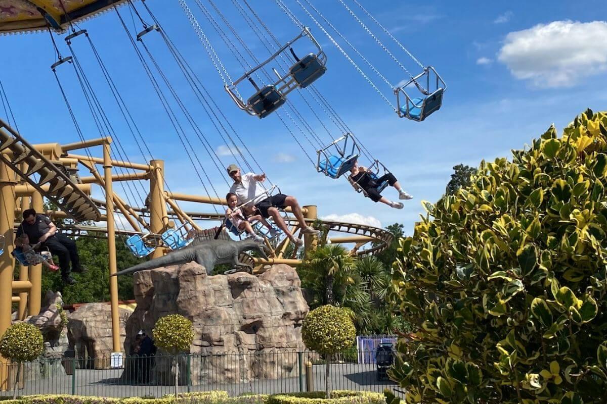 Swing ride at Paultons Park