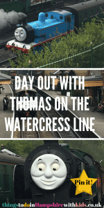 If you are looking for a day out with Thomas then try the Watercress Line. It's a great day out for the whole family including picnic spots and playgrounds by Laura at Things to Do In Hampshire With Kids