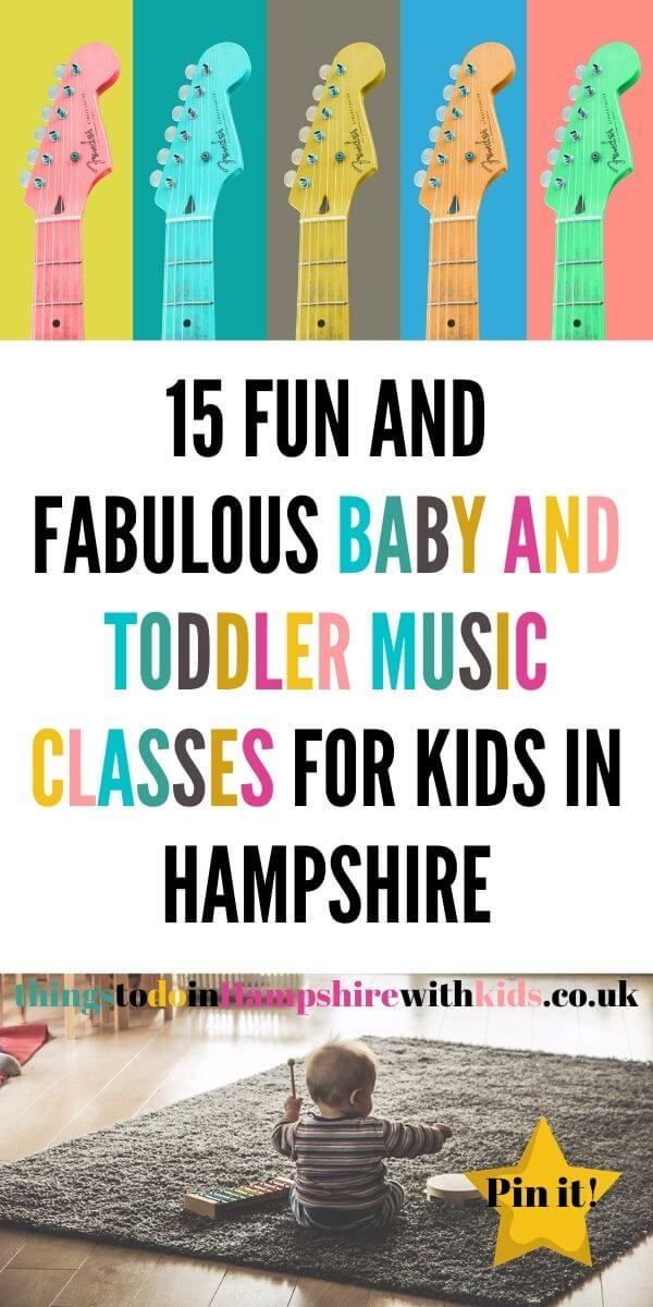 Here are 15 baby and toddler music classes in Hampshire that can help you get out the house and start singing with your baby by Laura at Things to Do With Kids In Hampshire #musicclasses #Hampshire
