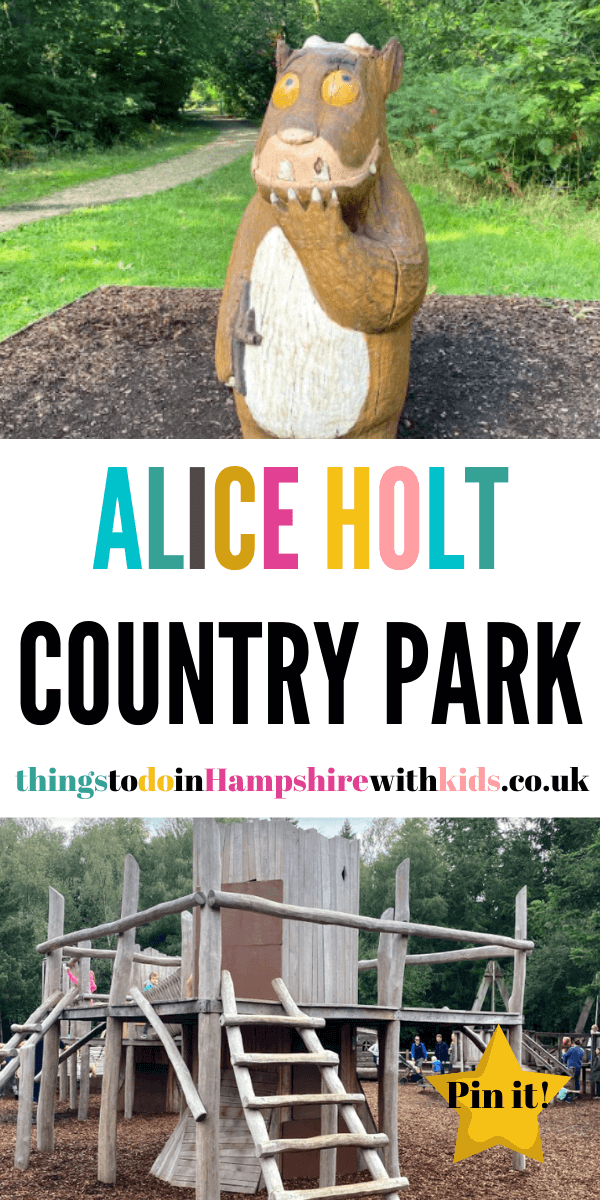 Alice Holt Country Park is right on the edge of Hampshire. It's full of fun-packed family trails that can keep the whole family amused for the whole day by Laura at Things To Do In Hampshire With Kids #walks #Hampshire #countryparks