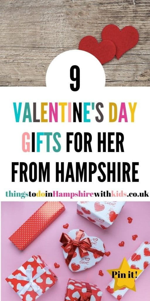 Looking for Valentines Day gifts for a loved one in Hampshire? We have included everything from homemade gifts to photographs and discount cards by Laura at thingstodoinhampshirewithkids.co.uk