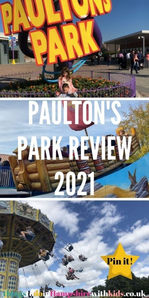 This is the best guide to Paultons Park in 2021 including all the things you need to know about Tornado Springs, Peppa Pig World and Little Africa by Laura at Things to do in Hampshire With Kids