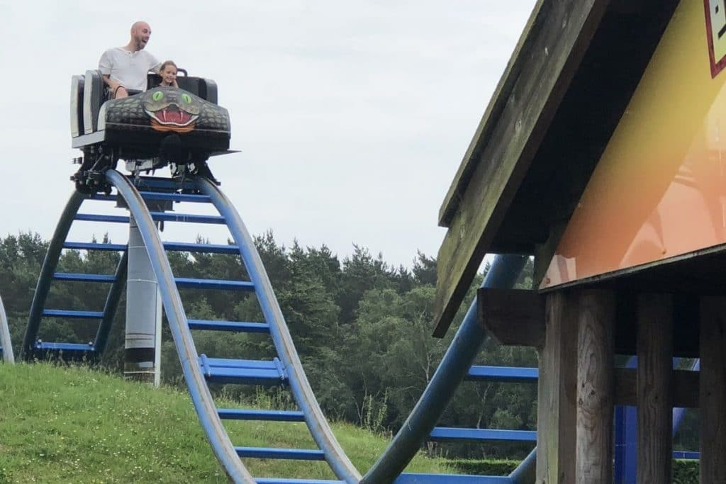 Cobra ride at Paultons Park