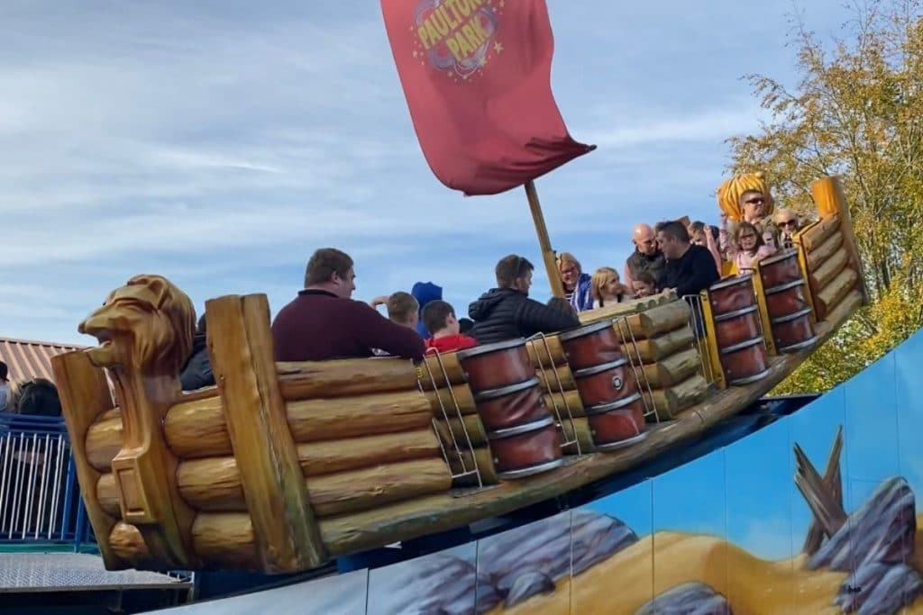 Kontiki ride at Paultons Park