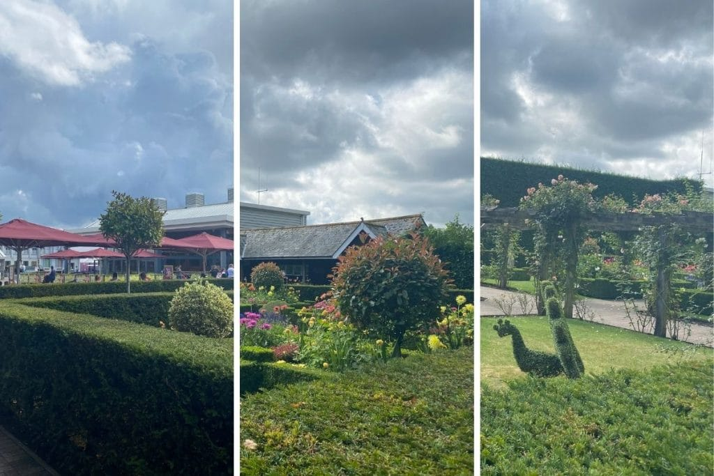 Paulton Park gardens