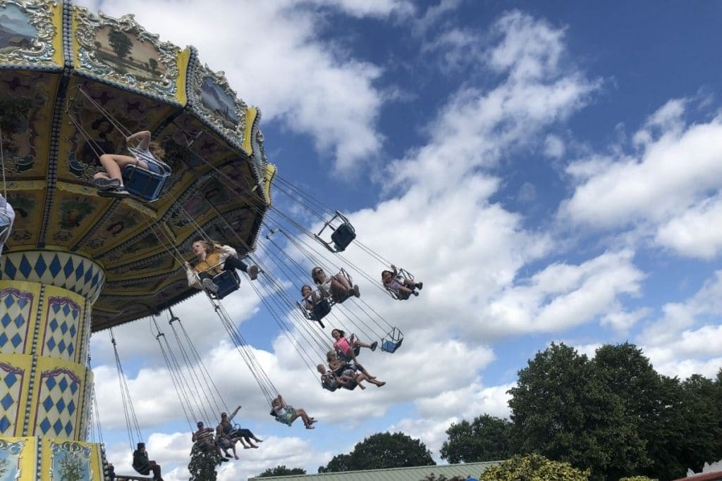 Sky Swinger at Paultons Park
