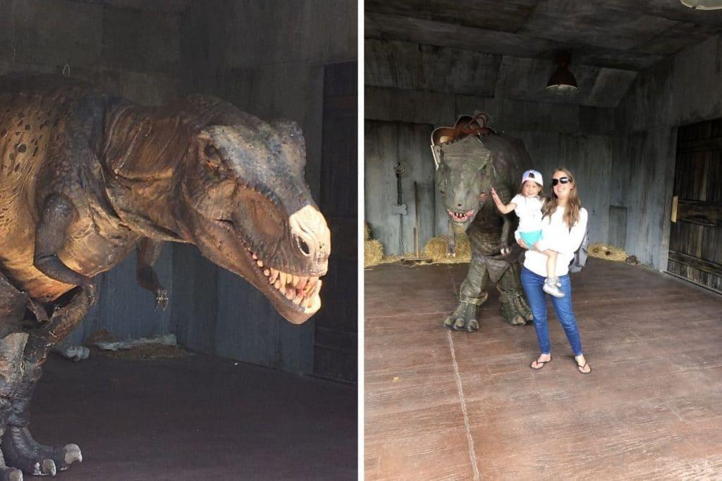 Alive Dinosaur Show