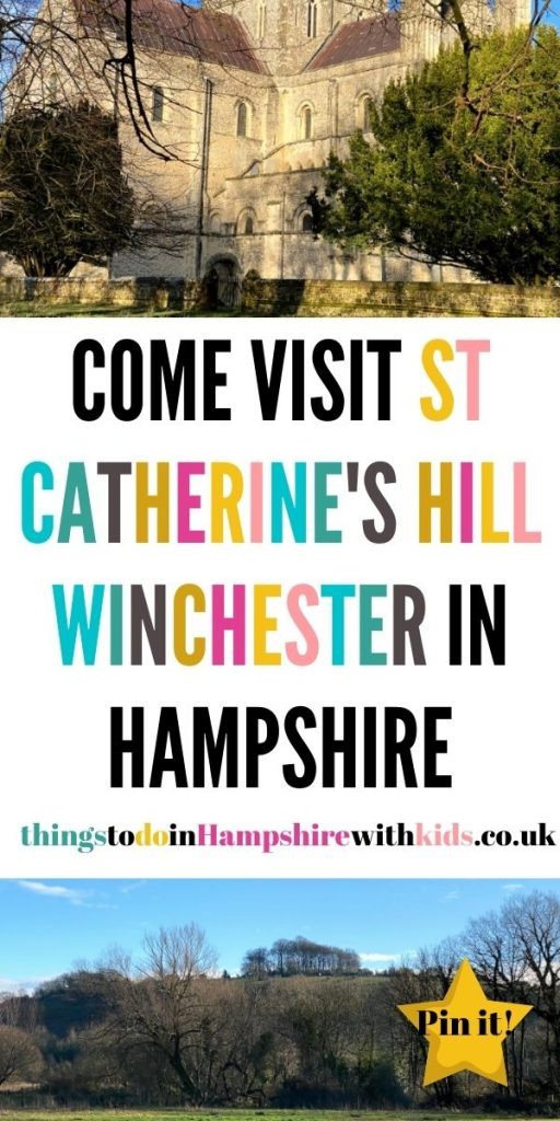 St Catherine's Hill in Winchester, Hampshire is a few miles out of the city and is a great place to explore with the whole family. Take a picnic and climb up the hill itself or wonder around the hill and see St Cross Hospital and fields by Laura at Things To Do In Hampshire With Kids