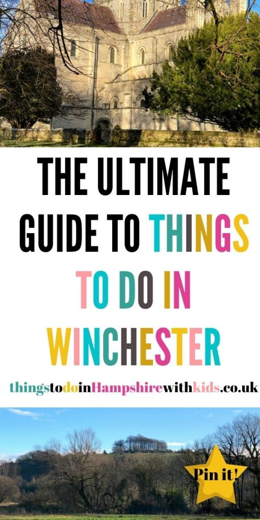This is the best guide to things to do in Winchester with kids. Explore the history of the city and what it has to offer the whole family by Laura at Things To Do In Hampshire With Kids