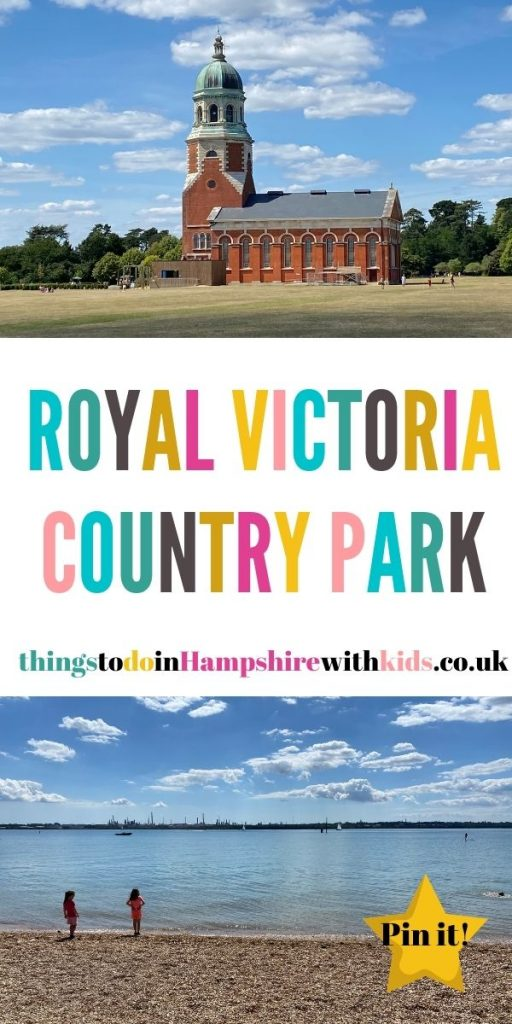 Royal Victoria Country Park is steeped in local heritage with its old military hospital, open fields, woodland and beach by Laura at Things To Do In Hampshire With Kids.