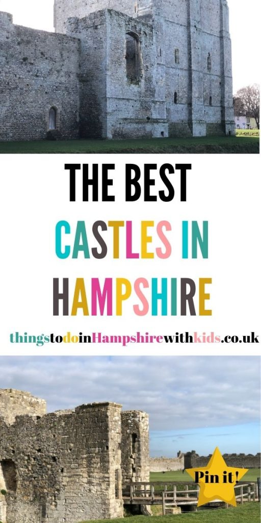 These are the best castles in Hampshire that are perfect for families to visit for a day out. We've also included stately homes by Laura at Things to Do In Hampshire With Kids