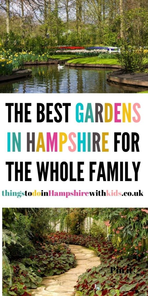 These are the best gardens in Hampshire that you can walk around and enjoy as a family. We included stately homes and parks by Laura at Things To Do In Hampshire With Kids