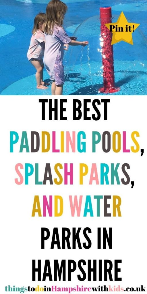 This is the best guide to paddling pools, splash parks and water parks in Hampshire. We've included paid and free splash parks by Laura at Things to Do In Hampshire With Kids