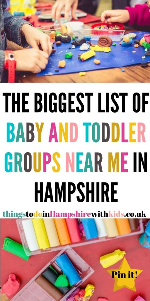 This is the biggest list of baby and toddler groups in Hampshire. Get out and about and meet new parents near you by Laura at Things To Do In Hampshire With Kids