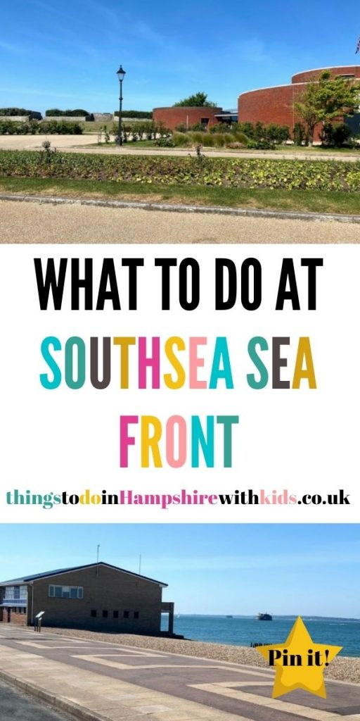 This is the biggest guide on what to do at Southsea Seafront with the kids. We've included everything from the fair to beach walks by Laura at Things To Do In Hampshire With Kids