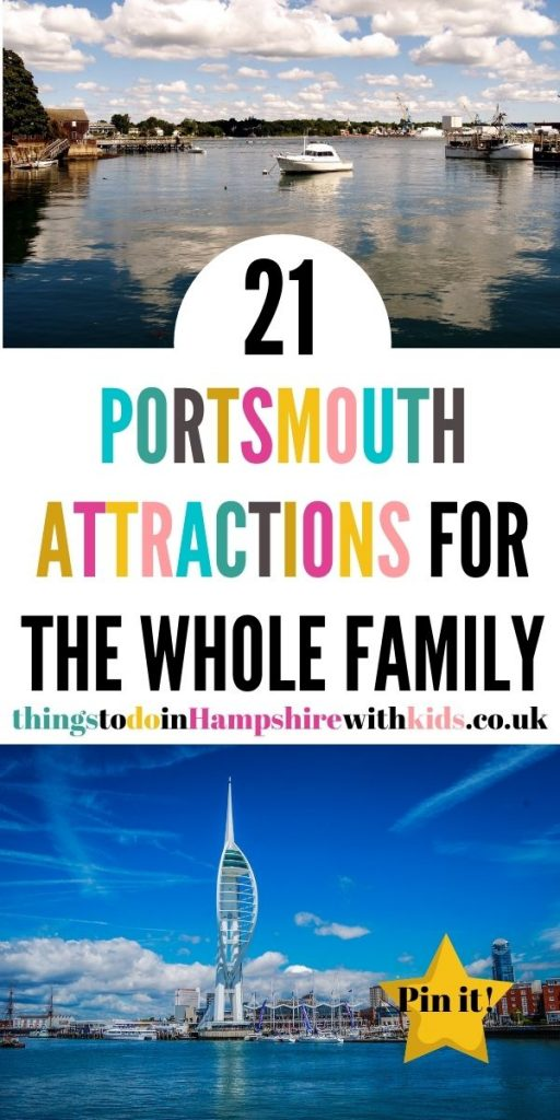 This is the best list of Portsmouth attractions for kids in Hampshire. Make sure you visit the seafront and all the museums by Laura at Things to do in hAMPSHIRE WITH KIDS