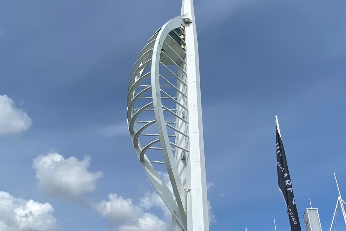 Spinnaker Tower in Portsmouth, Hampshire