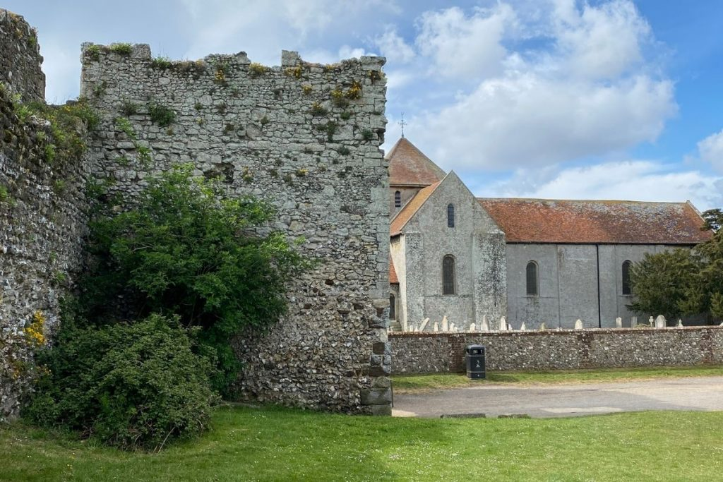 Portchester Castle and the Church