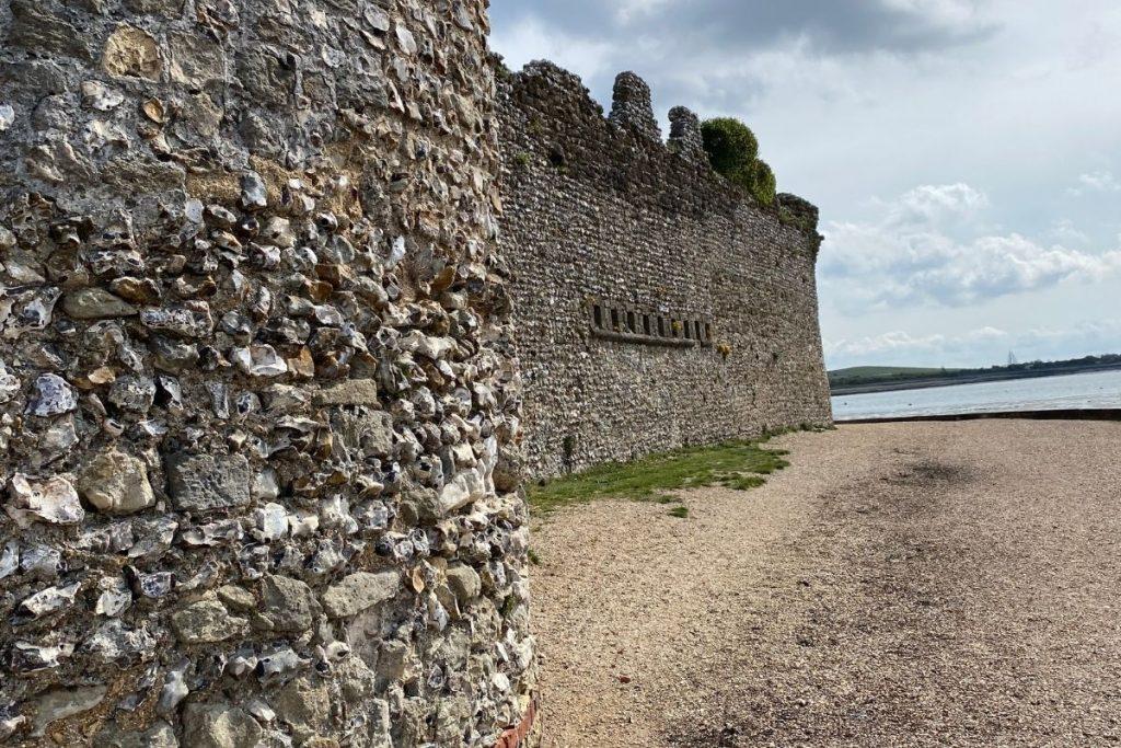 Outside of Portchester Castle
