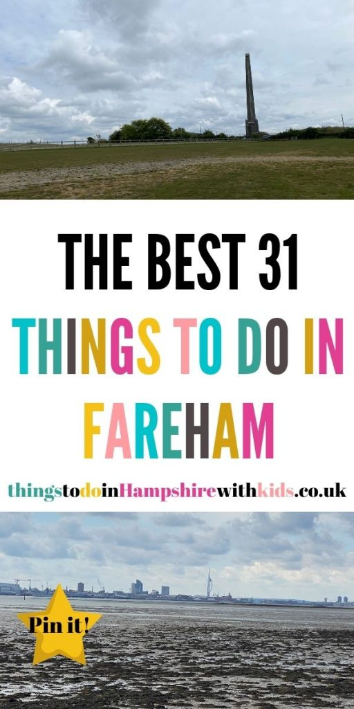These are the best things to do in Fareham with kids. Make sure that you explore Fort Nelson, Portchester Castle and the beach by Laura at Things to do in Hampshire with kids