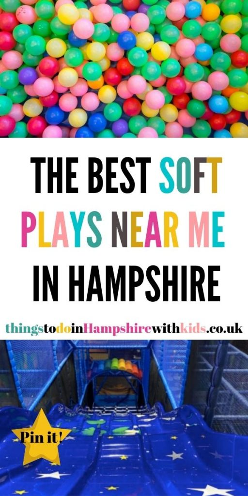 These are the best soft plays in Hampshire. Search our blog post here for the very best soft plays near you by Laura at Things to do in Hampshire with kids