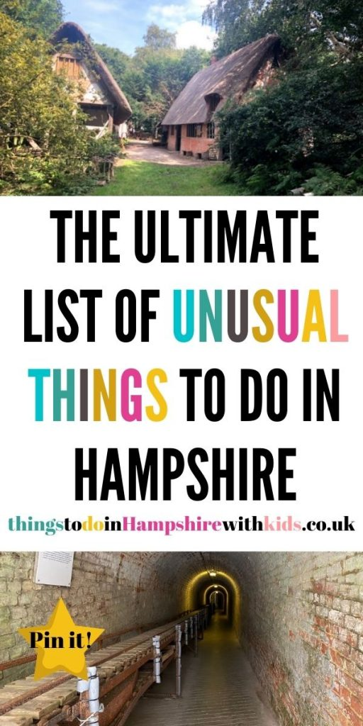 This is the biggest guide to unusual things to do in Hampshire with kids. We've included everything from castles to day out ideas by Laura at Things to do in Hampshire with kids.