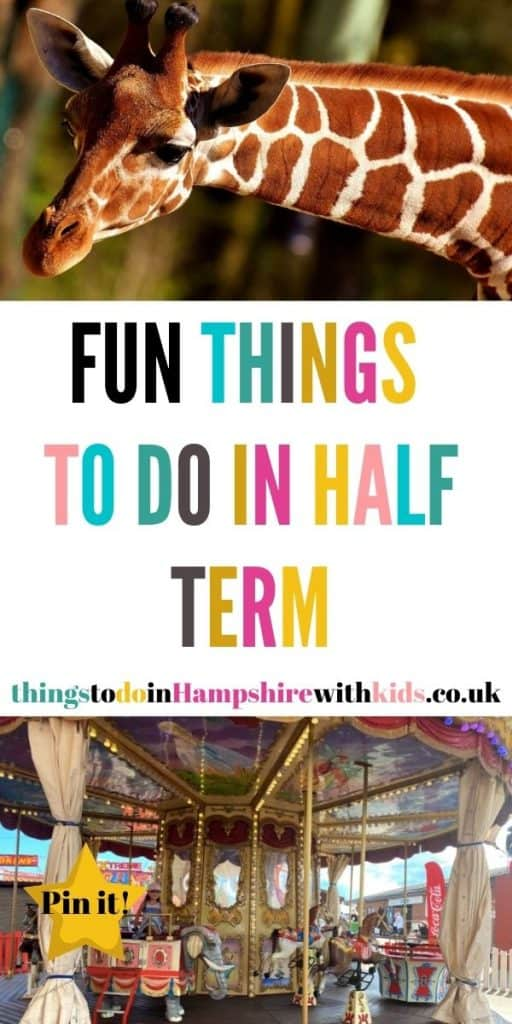 Here is a huge list of things to do in half term for the whole family. We've included everything from museums to days out by Laura at Things to do in Hampshire with kids