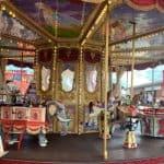 Carousel at Funland Hayling island