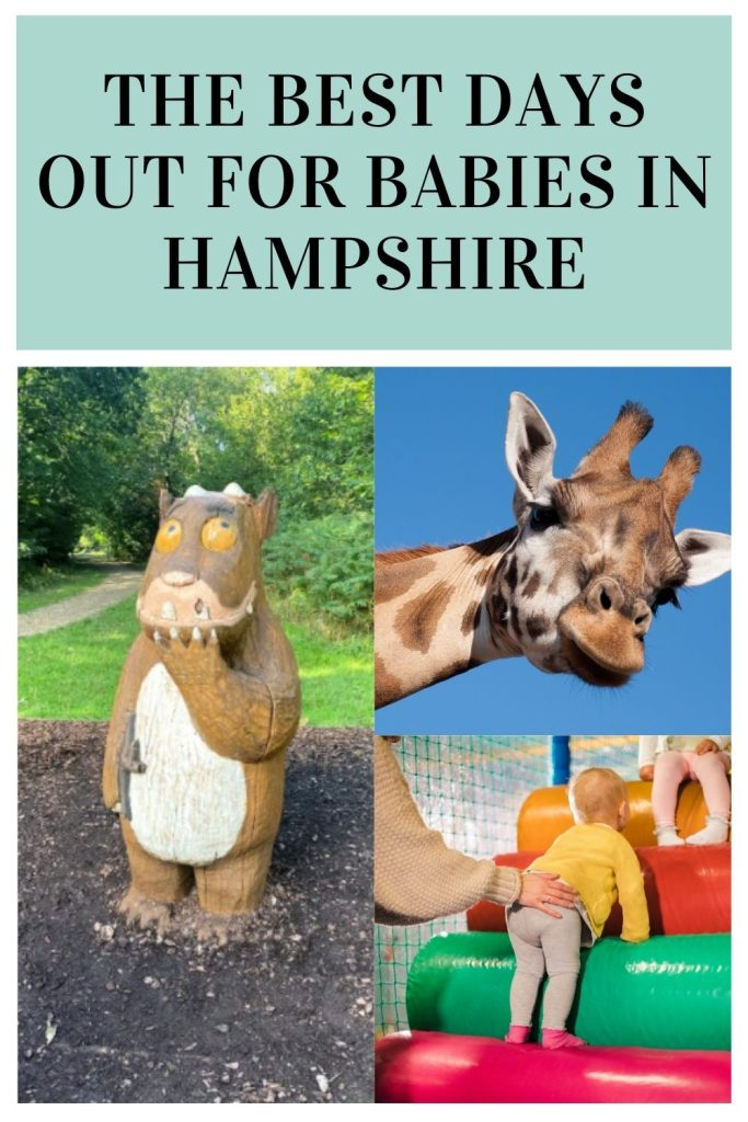 This is the best post for days out for babies in Hampshire. We've included everything from soft plays to farms to swimming pools by Laura at Things to do in Hampshire with kids